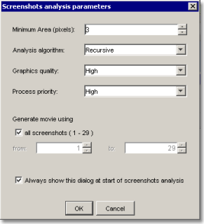 AtPresent Recorder Pro movie generating parameters dialog